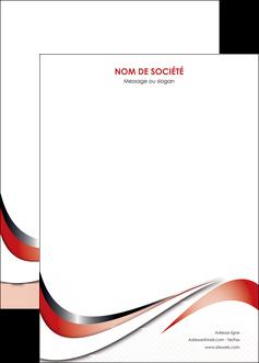 creer modele en ligne affiche web design rouge fond rouge couleur chaude MLGI72147