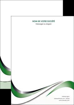 personnaliser modele de affiche web design fond vert abstrait abstraction MLGI72159