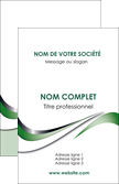 modele carte de visite web design fond vert abstrait abstraction MLGI72165