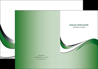 cree pochette a rabat web design fond vert abstrait abstraction MLGI72167