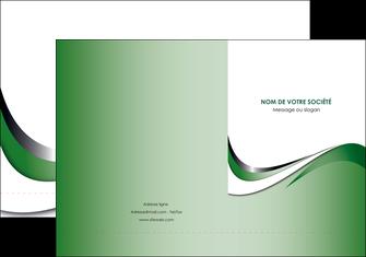 modele en ligne pochette a rabat web design fond vert abstrait abstraction MLGI72169