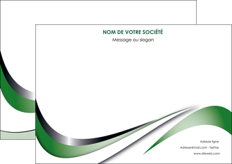 creer modele en ligne affiche web design fond vert abstrait abstraction MLGI72175