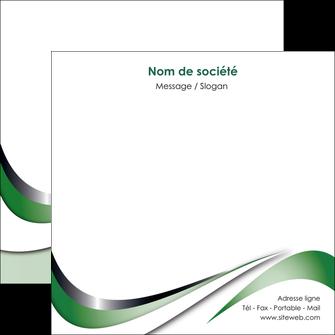 faire flyers web design fond vert abstrait abstraction MLGI72189