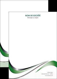 imprimerie affiche web design fond vert abstrait abstraction MLGI72199