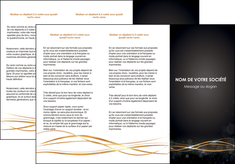 personnaliser modele de depliant 3 volets  6 pages  abstrait abstraction design MLGI72233