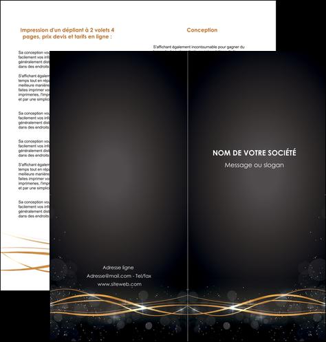creer modele en ligne depliant 2 volets  4 pages  abstrait abstraction design MLGI72235