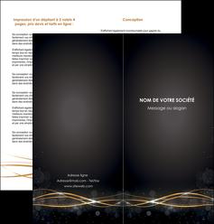 creer modele en ligne depliant 2 volets  4 pages  abstrait abstraction design MIF72235