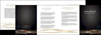 maquette en ligne a personnaliser depliant 4 volets  8 pages  abstrait abstraction design MIF72249