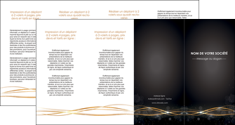creer modele en ligne depliant 4 volets  8 pages  abstrait abstraction design MLGI72253