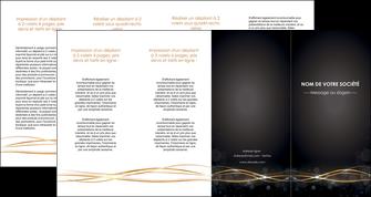 creer modele en ligne depliant 4 volets  8 pages  abstrait abstraction design MIF72253