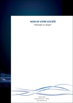 imprimerie affiche fond  bleu couleurs froides structure en bleu MIF72339