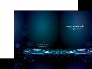 creer modele en ligne pochette a rabat fond  bleu couleurs froides structure en bleu MIF72345