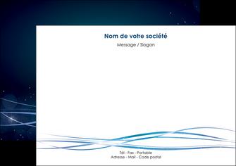 impression flyers fond  bleu couleurs froides structure en bleu MIF72355