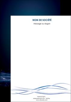 creer modele en ligne affiche fond  bleu couleurs froides structure en bleu MIF72373