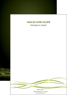 creation graphique en ligne flyers fond vert structure en vert abstrait MIF72385