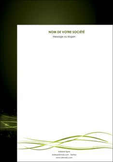 imprimer affiche fond vert structure en vert abstrait MIF72389
