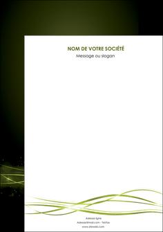faire affiche fond vert structure en vert abstrait MIF72391