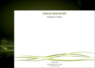 realiser affiche fond vert structure en vert abstrait MIF72403