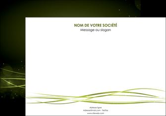 creer modele en ligne affiche fond vert structure en vert abstrait MIF72405
