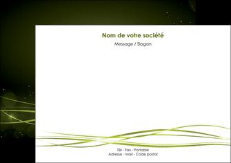 imprimerie flyers fond vert structure en vert abstrait MIF72407