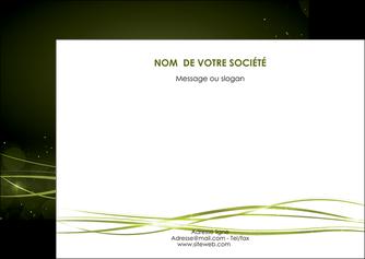 modele en ligne flyers fond vert structure en vert abstrait MIF72411