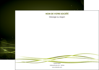 maquette en ligne a personnaliser flyers fond vert structure en vert abstrait MIF72417