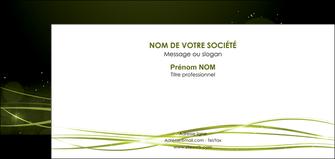 personnaliser maquette carte de correspondance fond vert structure en vert abstrait MIF72421