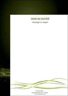 realiser affiche fond vert structure en vert abstrait MIF72425