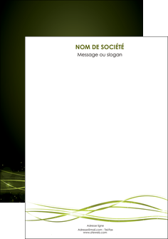 exemple flyers fond vert structure en vert abstrait MIF72429