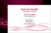 realiser carte de visite rose rose fushia couleur MLGI72435