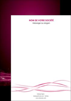 imprimerie flyers rose rose fushia couleur MLGI72437