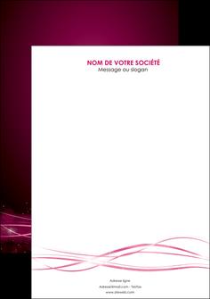 creation graphique en ligne affiche rose rose fushia couleur MLGI72443
