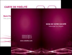 maquette en ligne a personnaliser carte de visite rose rose fushia couleur MLGI72445