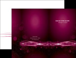 imprimer pochette a rabat rose rose fushia couleur MLGI72447