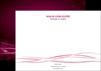 imprimerie flyers rose rose fushia couleur MLGI72469