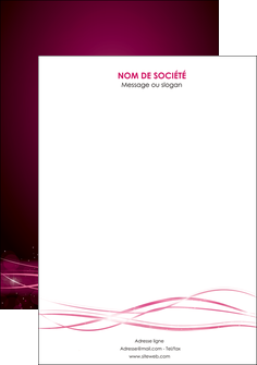 personnaliser maquette affiche rose rose fushia couleur MLGI72477