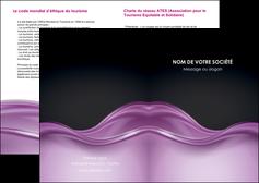 creation graphique en ligne depliant 2 volets  4 pages  web design violet fond violet couleur MLGI72509