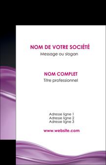 realiser carte de visite web design violet fond violet couleur MLGI72513