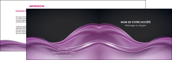 creation graphique en ligne depliant 2 volets  4 pages  web design violet fond violet couleur MLGI72519