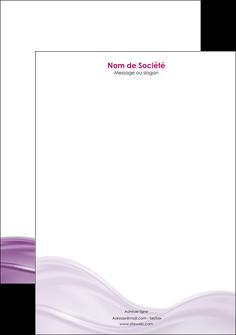 modele en ligne tete de lettre web design violet fond violet couleur MLGI72535