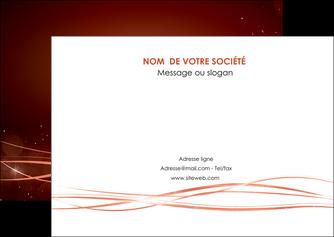 personnaliser maquette flyers rouge couleur couleurs MIS72753