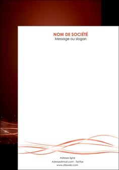 personnaliser maquette flyers rouge couleur couleurs MIS72771