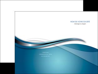 exemple pochette a rabat web design bleu fond bleu couleurs froides MIF72791