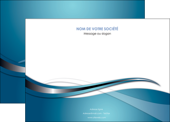 cree affiche web design bleu fond bleu couleurs froides MIF72797