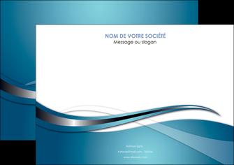 imprimerie affiche web design bleu fond bleu couleurs froides MIF72799