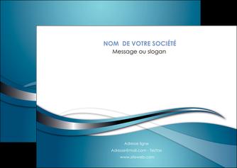 modele flyers web design bleu fond bleu couleurs froides MIF72805