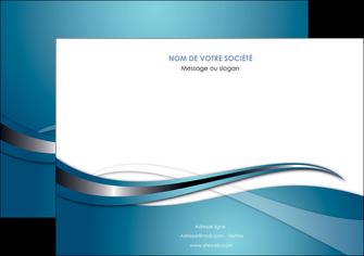 creer modele en ligne flyers web design bleu fond bleu couleurs froides MIF72811