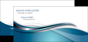 creation graphique en ligne carte de correspondance web design bleu fond bleu couleurs froides MIF72815