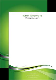 imprimer flyers web design vert fond vert verte MLGI73057