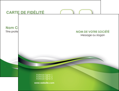 Personnaliser Modele De Carte Visite Web Design Vert Fond Verte MLGI73065